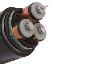 NA2XSEBY Cable( 6/10kV 8.7/15kV 12/20kV 18/30kV AL/XLPE/STA/PVC Three Core Power Cable)